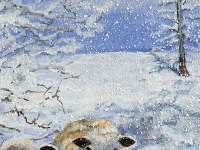 Margaret Zoma - Snowbound - Acrylics