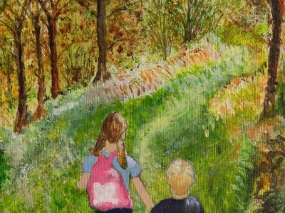 Moira May - Acrylic - Hurry! Summer is nearly over