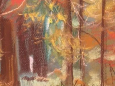 Fiona Knox - Pastel - Autumn Walkway