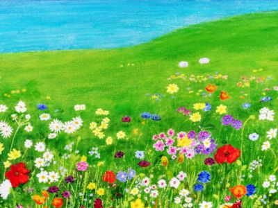 W A McClean - Acrylics - All Things Bright and Beautiful