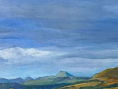 Judith Chapman - Acrylic on canvas - Blane Valley October - Highly Commended