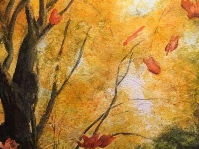 Kate Hackney - Watercolour - Lets Dance