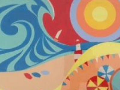 Dorothy Hamilton - Acrylic - Symbols of Summer