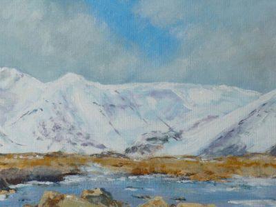 Andrew McEwan - Acrylic - Winter River