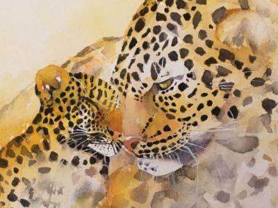 Joyce Wilson - Watercolour - Love summer