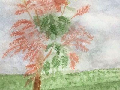 Ernest F Cormie - Watercolour - Autumn