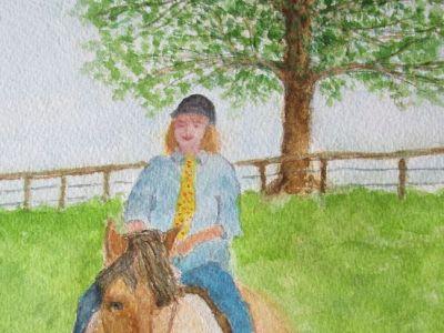 Tricia Duncan - Riding Rannoch