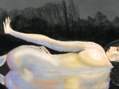 Jem Fraser - Nude - a study - Pastel
