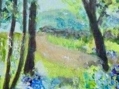 Fiona McNeish - Bluebell Wood - Acrylic