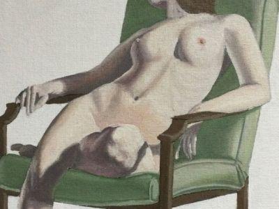 Leo Macham - Figure Study - Oil